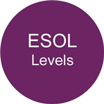 ESOL levels button