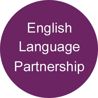 English Language Partnership button
