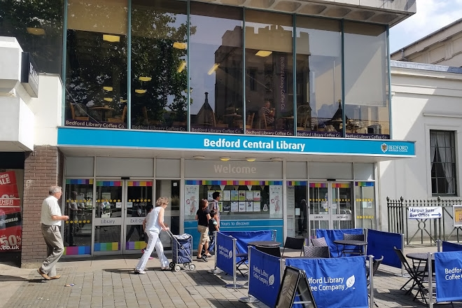 out side image of Bedford Central Library